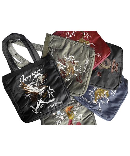 バッグ,ファッション,コーデ,コーディネート,プチプラ,プチプライス,ブランド,かわいい,カワイイ,可愛い,使いやすい,安い,和柄,スカジャン,刺繍,トートバッグ,お土産,インバウンド,TOKYO2020
