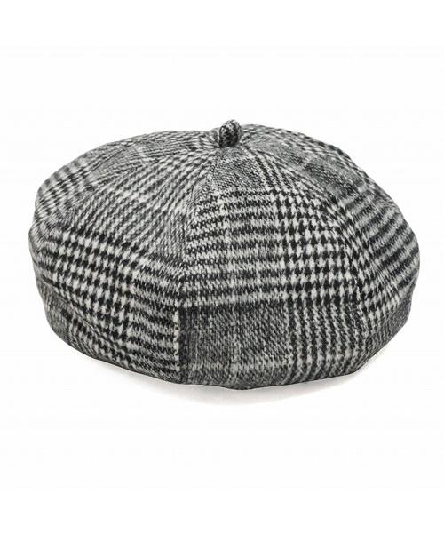 取り扱い,取扱い,取扱,ファッション,コーデ,コーディネート,プチプラ,プチプライス,ブランド,かわいい,カワイイ,可愛い,使いやすい,安い,cap,帽子,ベレー,ベレー帽,チェック,グレンチェック,チェックベレー,黒,ブラック,グレー,ベージュ