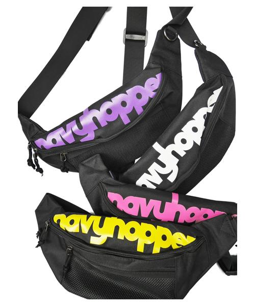 バッグ,ファッション,コーデ,コーディネート,プチプラ,プチプライス,ブランド,かわいい,カワイイ,可愛い,使いやすい,安い,ポーチ,ウエストポーチ,ウエストバッグ,ヒップバッグ,ロゴ,ネオン,navyhopper,ネイビーホッパー
