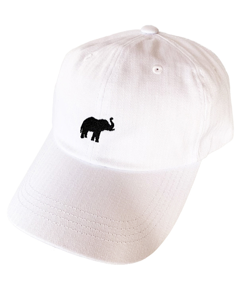 取り扱い,取扱い,取扱,ファッション,コーデ,コーディネート,プチプラ,プチプライス,ブランド,かわいい,カワイイ,可愛い,使いやすい,安い,cap,帽子,キャップ,ローキャップ,シンプル,刺繍,象,ゾウ,エレファント